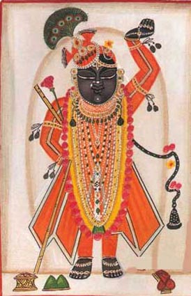 shrinathji darshan In order to respect the sanctity of our beloved shrinathji mangala darshan 8:00am to 8:30 am worship and devotion in shreejidwar haveli is based on principles of shree vallabhacharya mahaprabhuji pushtimarg.
